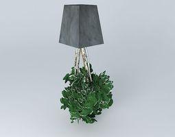 satbilisées plants 3D model