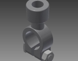 3D model sae battery terminal tube style