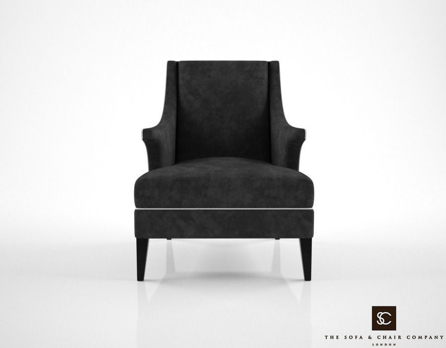 The Sofa And Chair Company Bishop Armchair 3d Model Max Obj Fbx Mtl 1 ...