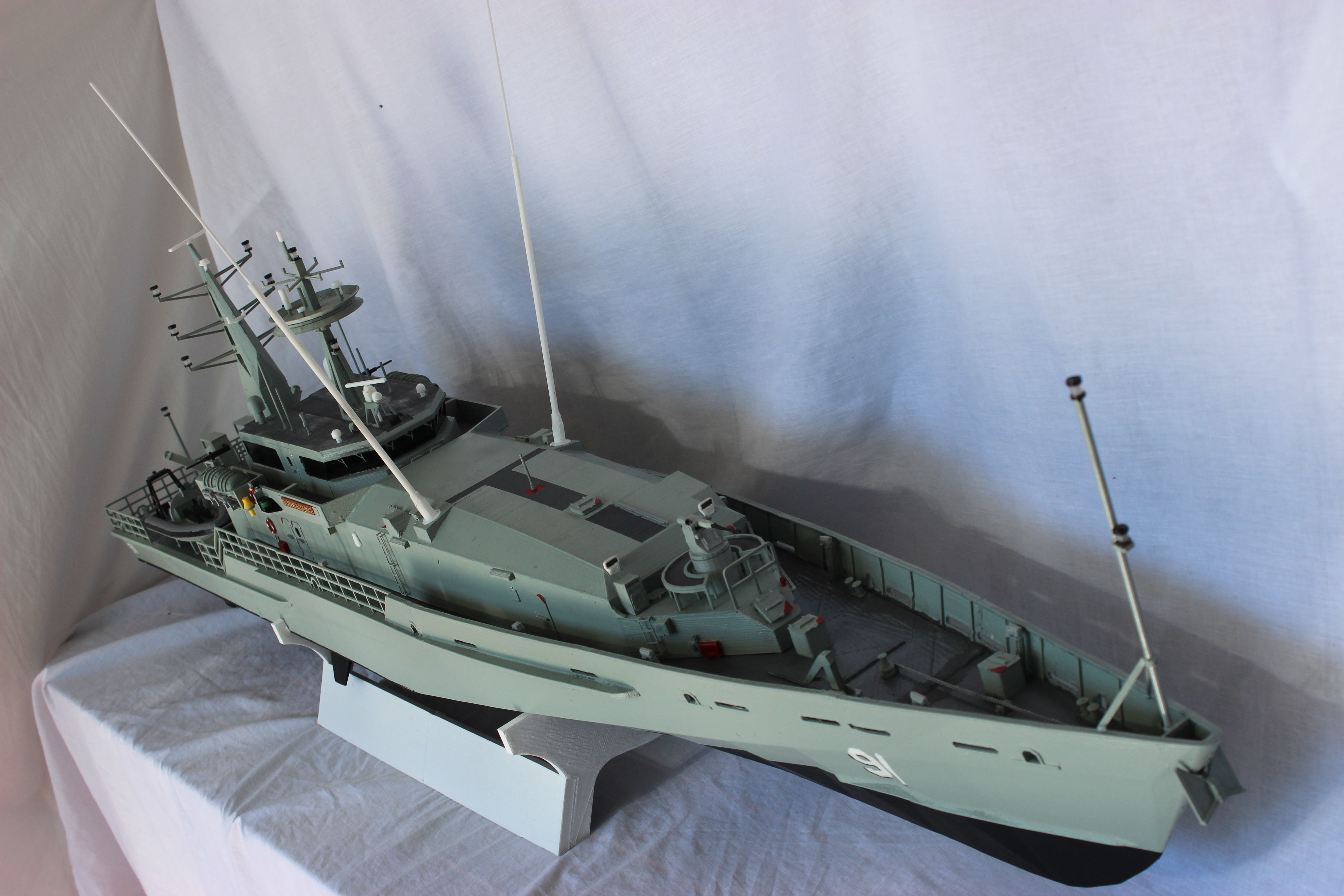 48th scale Remote Controlled Armidale Class Patrol Boat