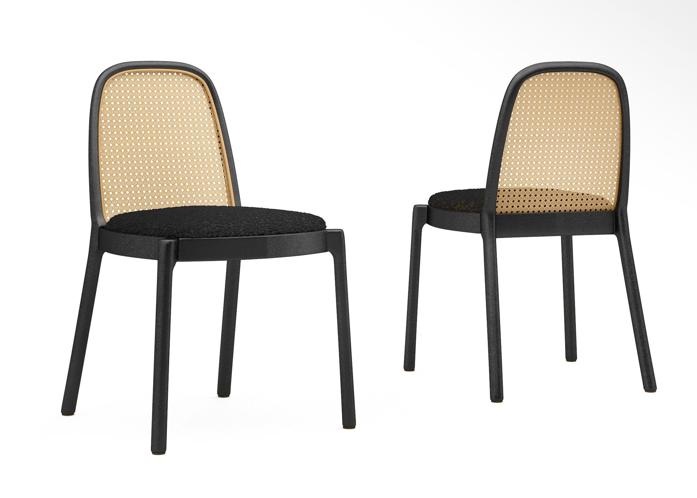 CB2 Nadia Cane chair