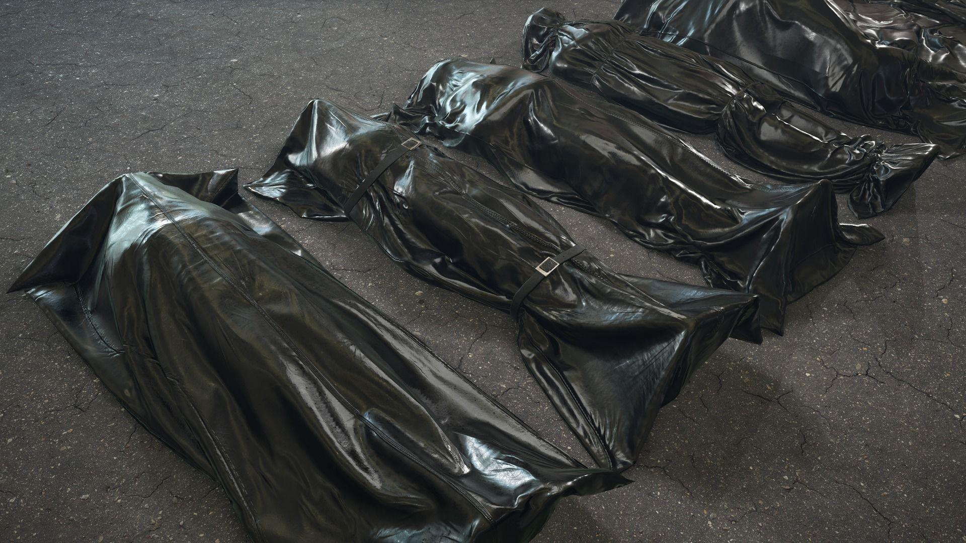 Crime Scenes - Bodybags   3D model