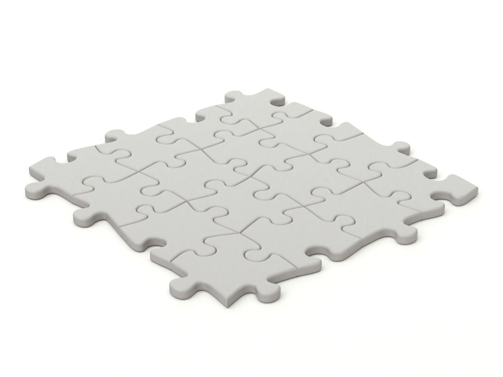 Repeatable jigsaw puzzle module