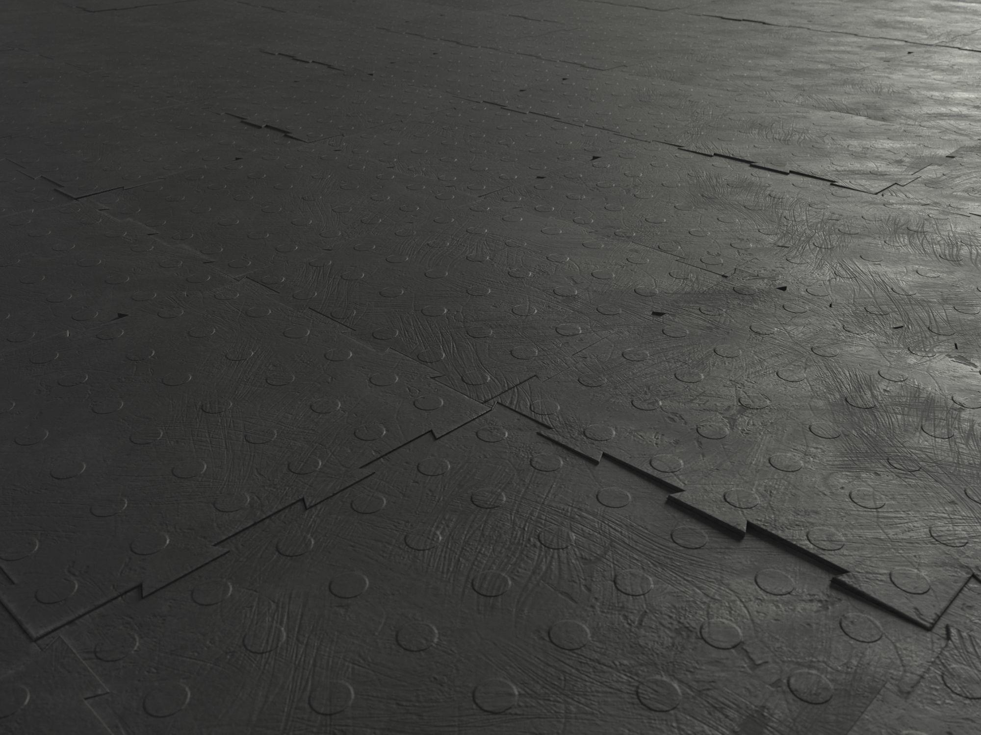 Rubber Floor Tiles 3d Asset Cgtrader