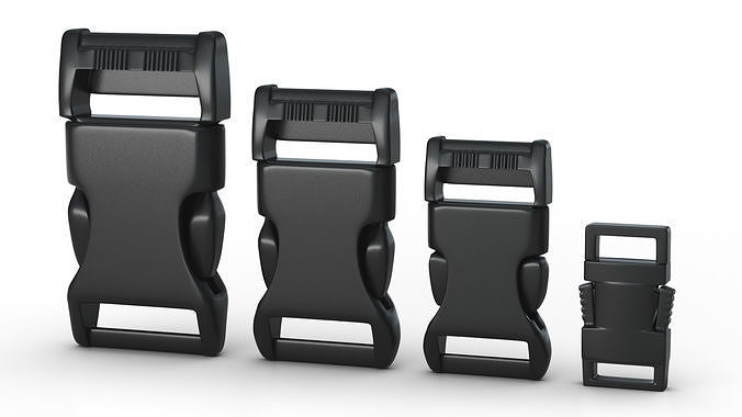 Set of 4 Buckles for Lanyards or similar