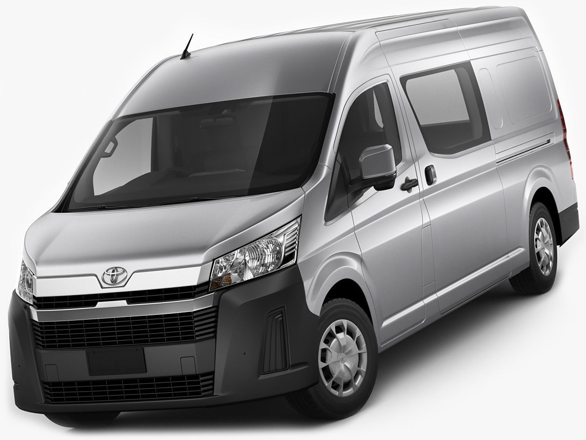 Toyota Hiace Van Slwb 2020 3d Model