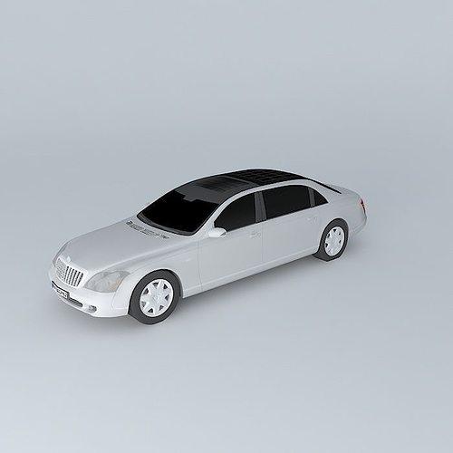 2007 Maybach 62 Camshaft: 3D Model Maybach 62S 2007