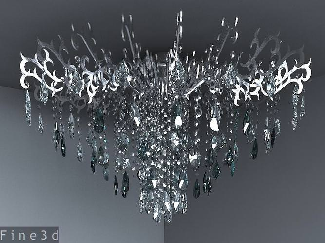 3D model Modern chandeliers collection | CGTrader