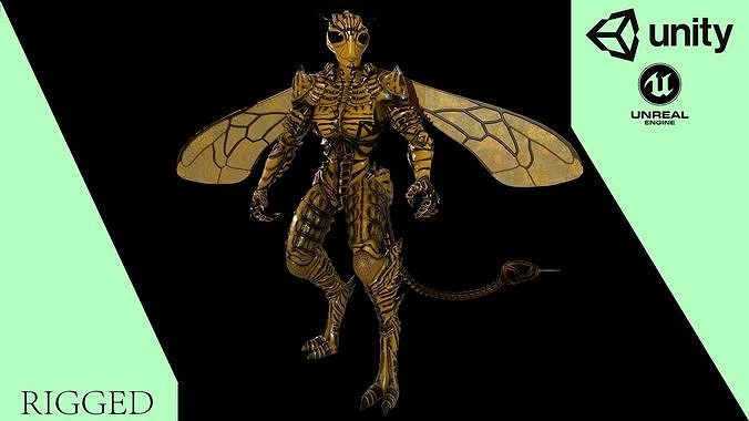Mutant Wasp