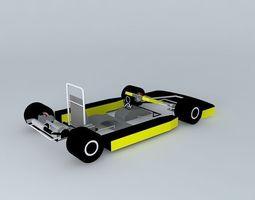 3d model go-kart