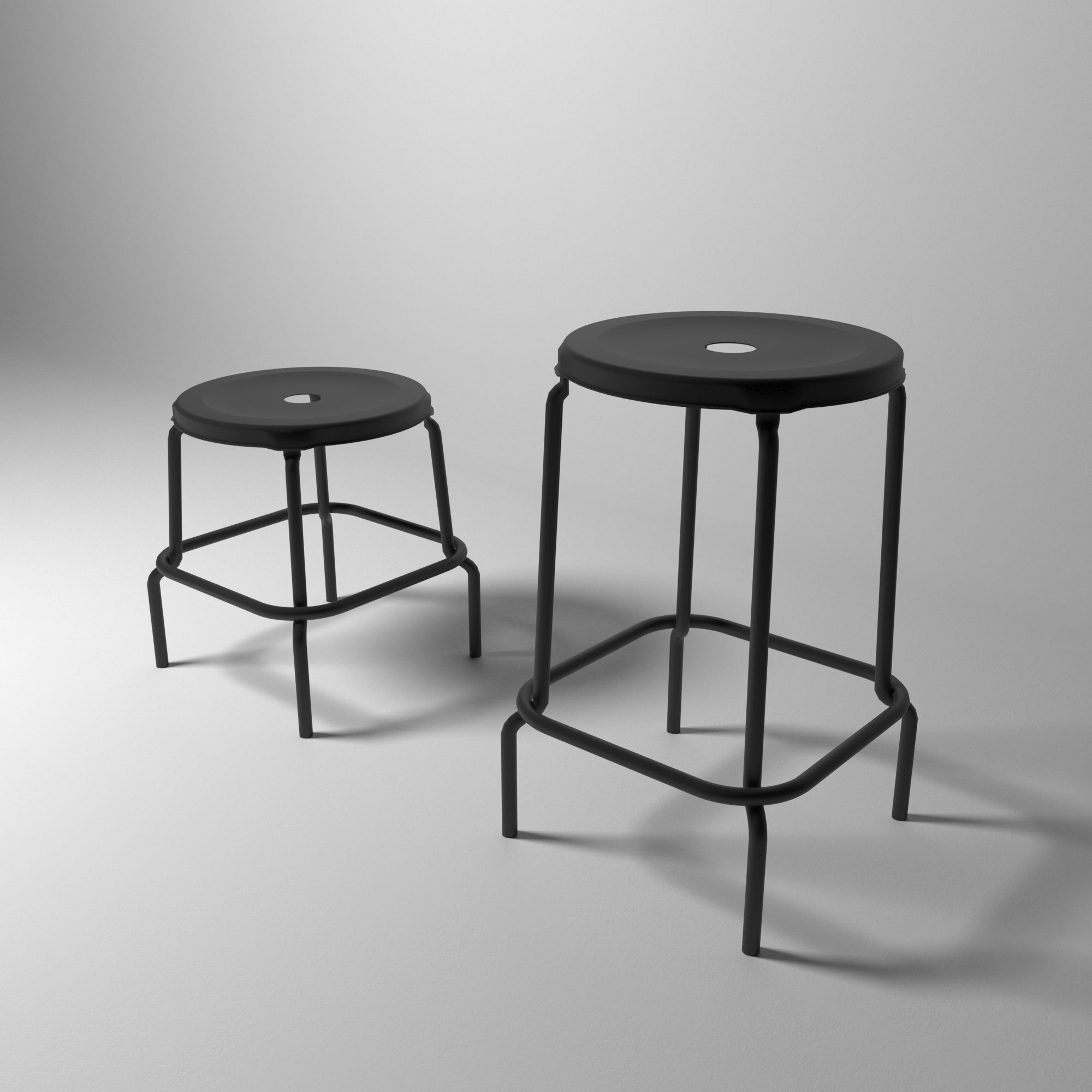 the best attitude 8a564 89d53 Ikea Raskog Stool | 3D model