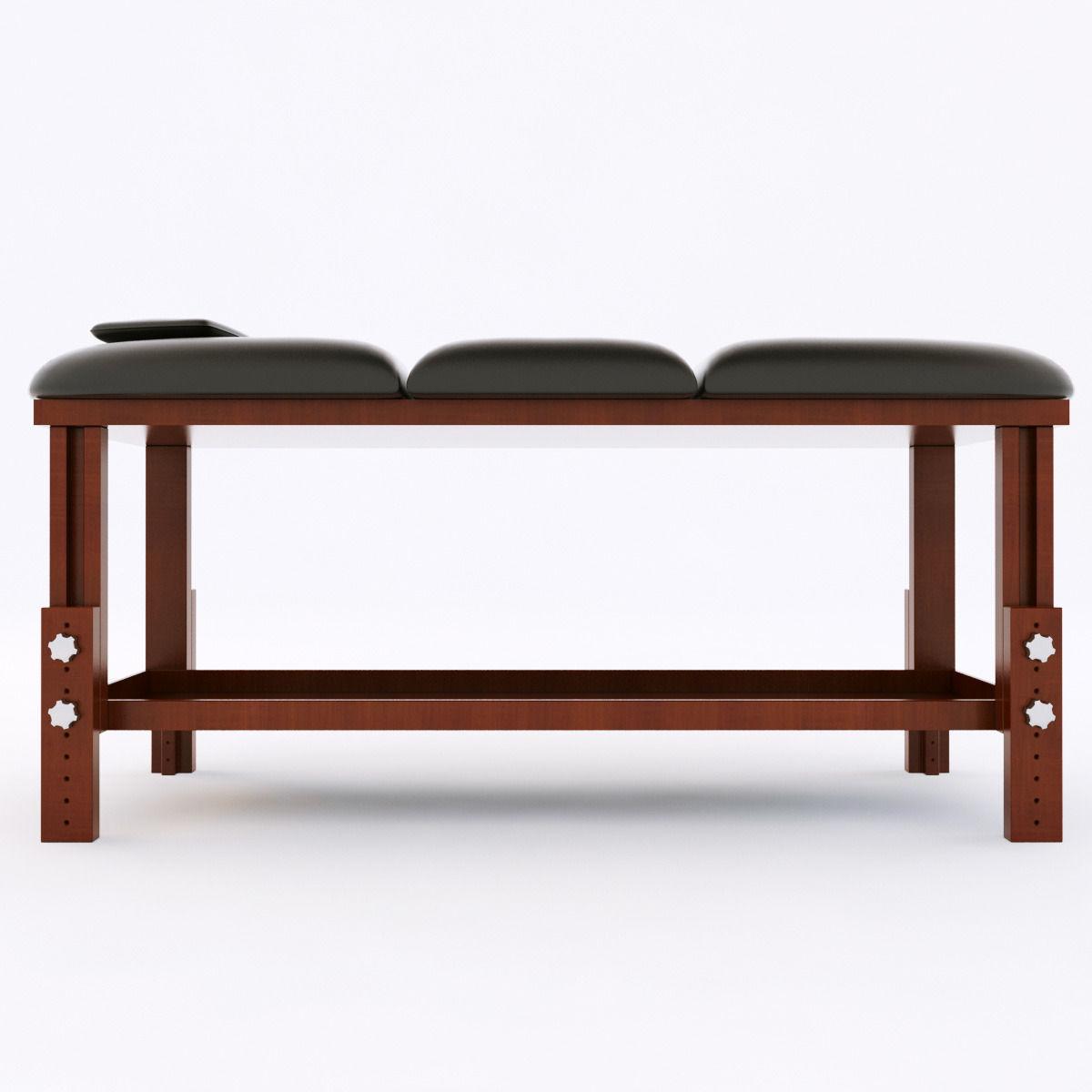 Massage Table 3d Model Max Obj Mtl 3ds Fbx 1 ...