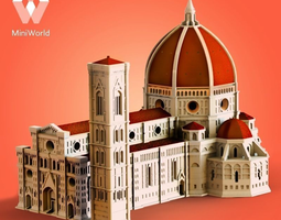 3d print model florence cathedral