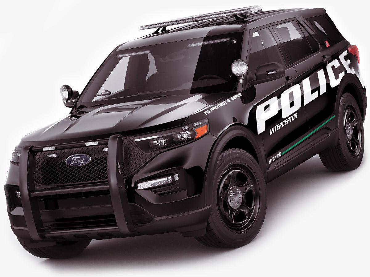 Explorer 2020 Police Interceptor