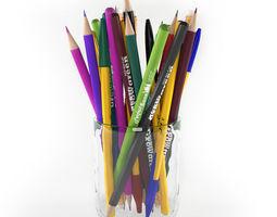 3D model Pencils