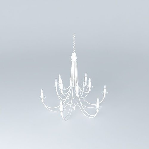 3d royal suspension cgtrader for Suspension 3 branches