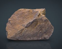 real stone 10 3d model