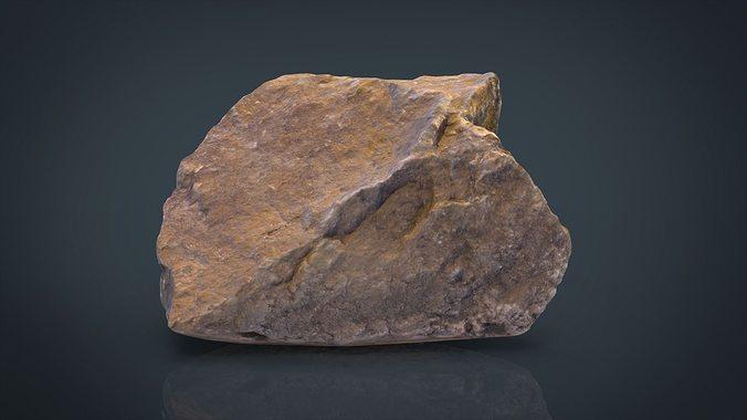 real stone 10 3d model obj mtl 3ds fbx ma mb 1