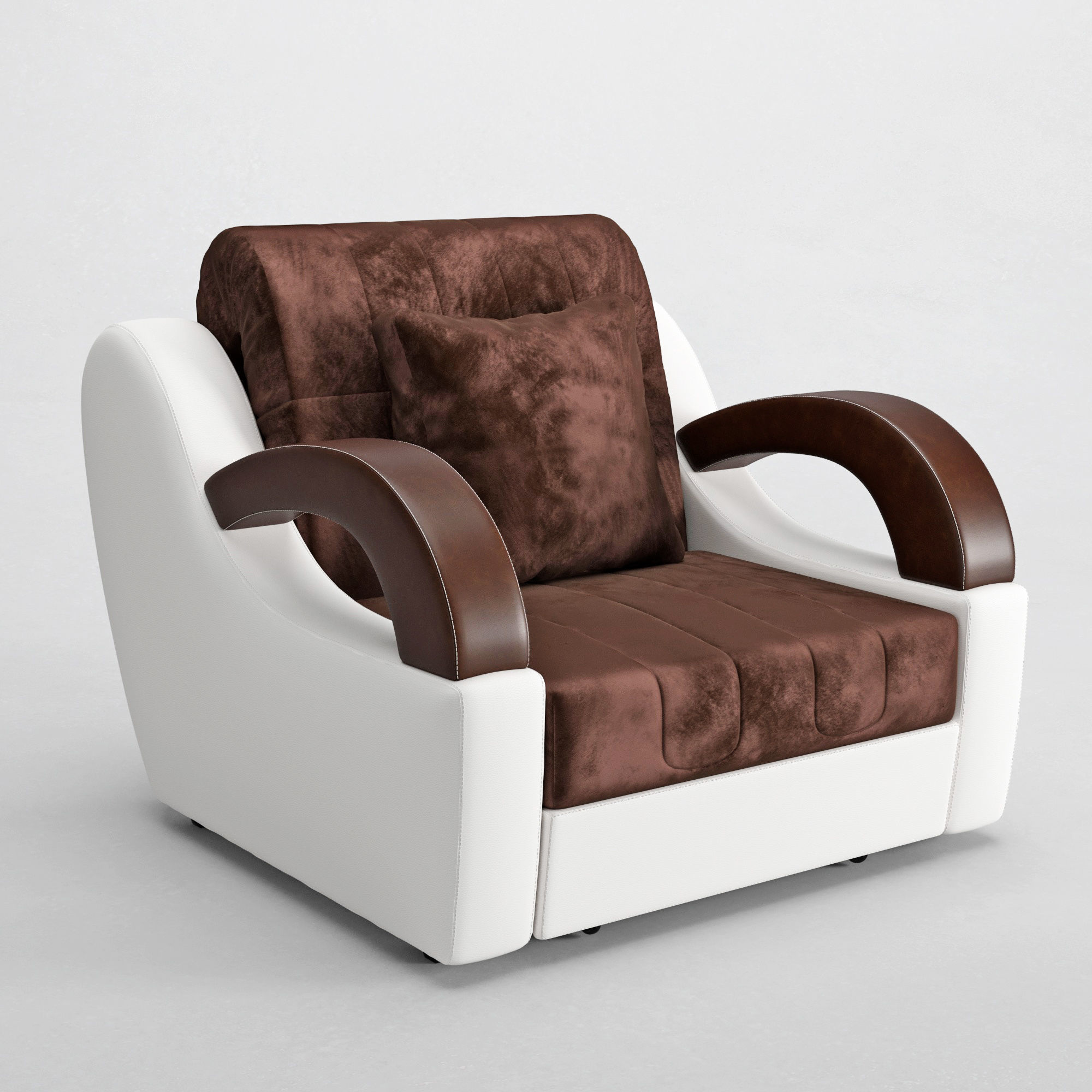 3D model Armchairs Bed Madrid   CGTrader