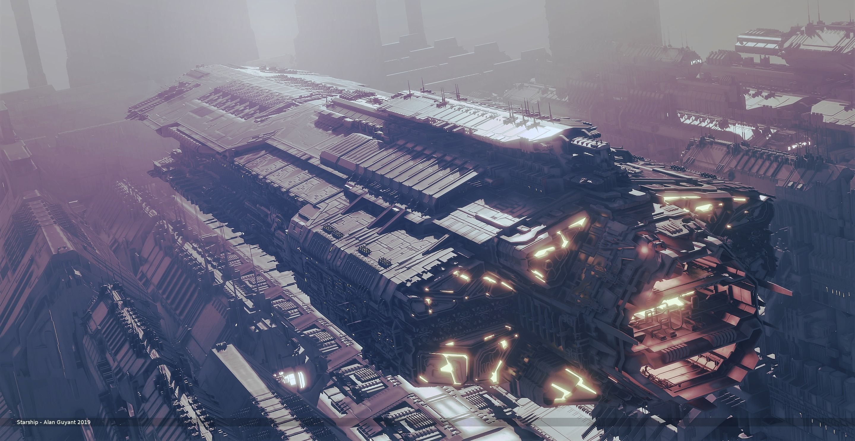Heavy Space Carrier