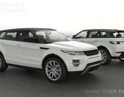 RANGE ROVER EVOQUE CAR4ARCH VOL2 3D model