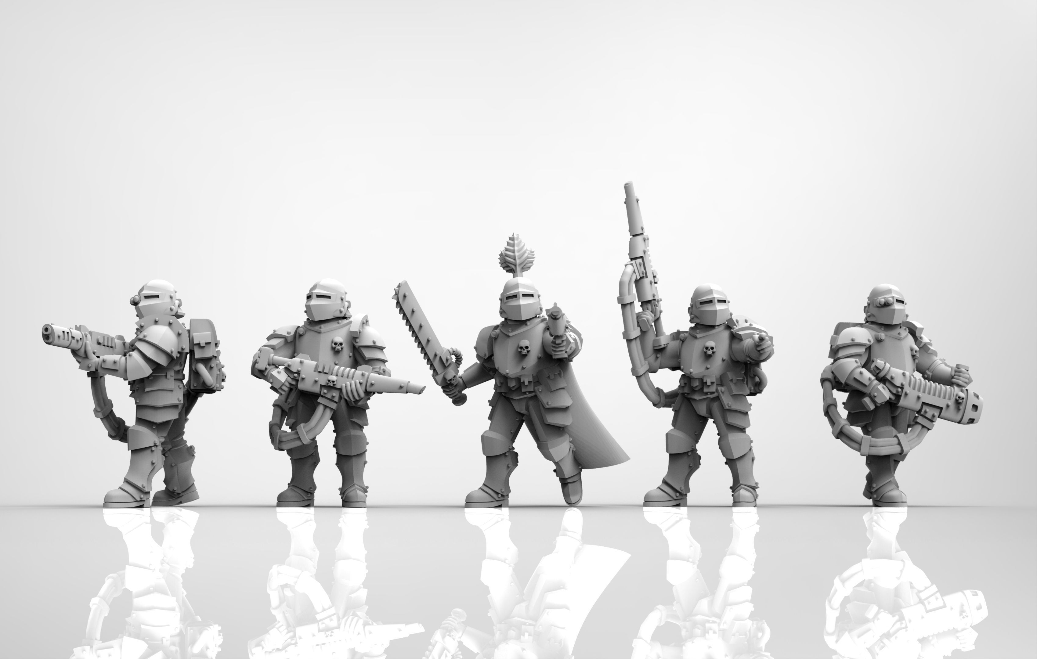 Feudal Guard Elite infantry