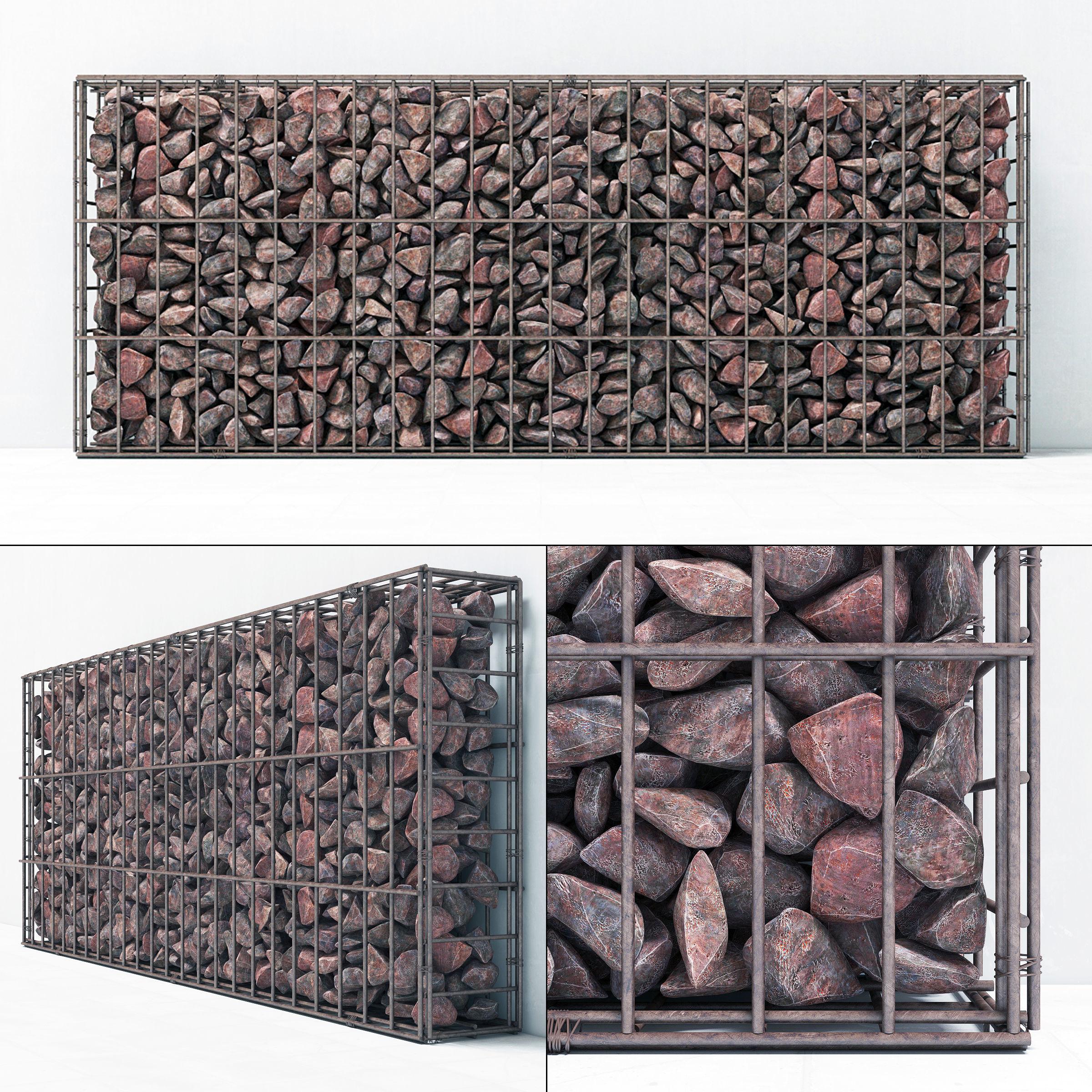Gabion cage frame