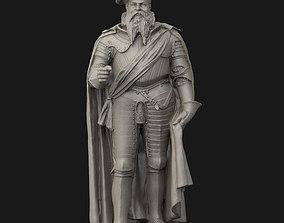 3D printable model Albert of Prussia statue