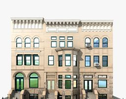 3d hystoric nyc townhouse
