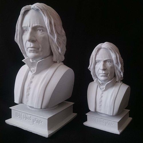 Severus Snape Alan Rickman Half-blood prince Harry Potter 3D model 3D printable | CGTrader