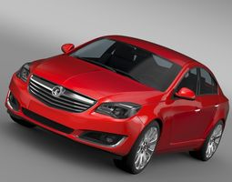 3D model Vauxhall Insignia 2015