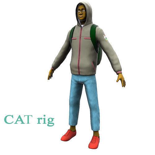 Student | 3D model