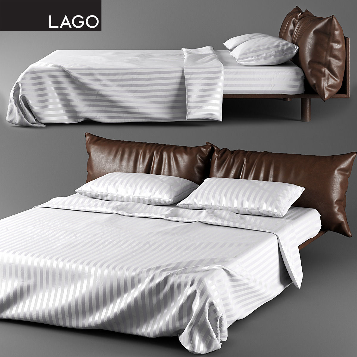 LAGO KUSSIN D CGTrader - Lago bed