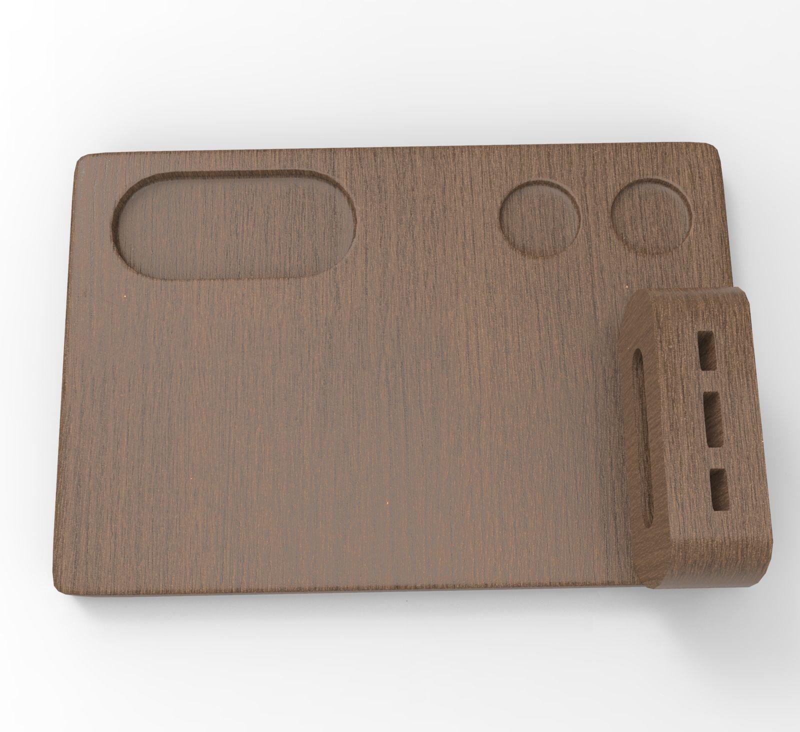 Wood Wooden Chopping Cutting Board 3D Model