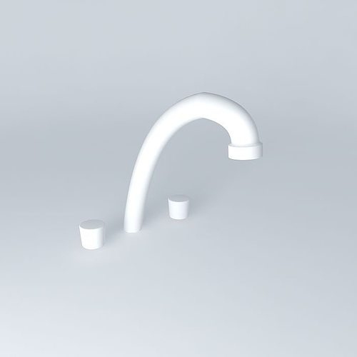 kitchen faucet 3d model max obj 3ds fbx stl skp 1