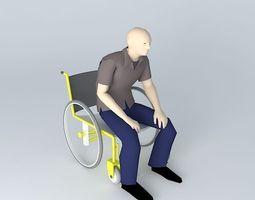 Wheelchair 3D