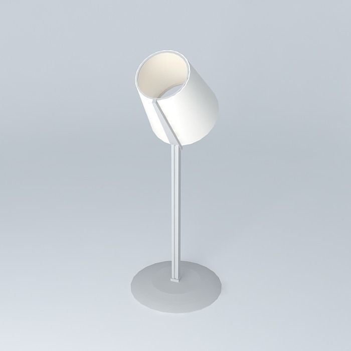 Floor lamp steel and summit free 3d model max obj 3ds for Floor lamp 3ds max free model