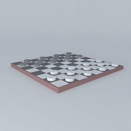 chess - chess 3d model max obj 3ds fbx stl skp 1