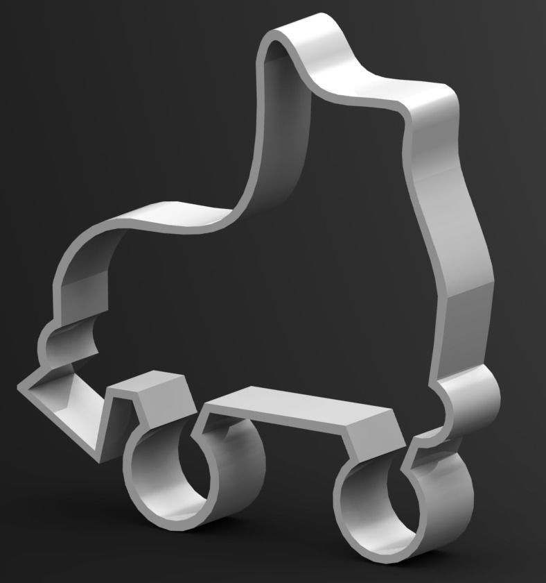 Roller Skates Cookie Cutter