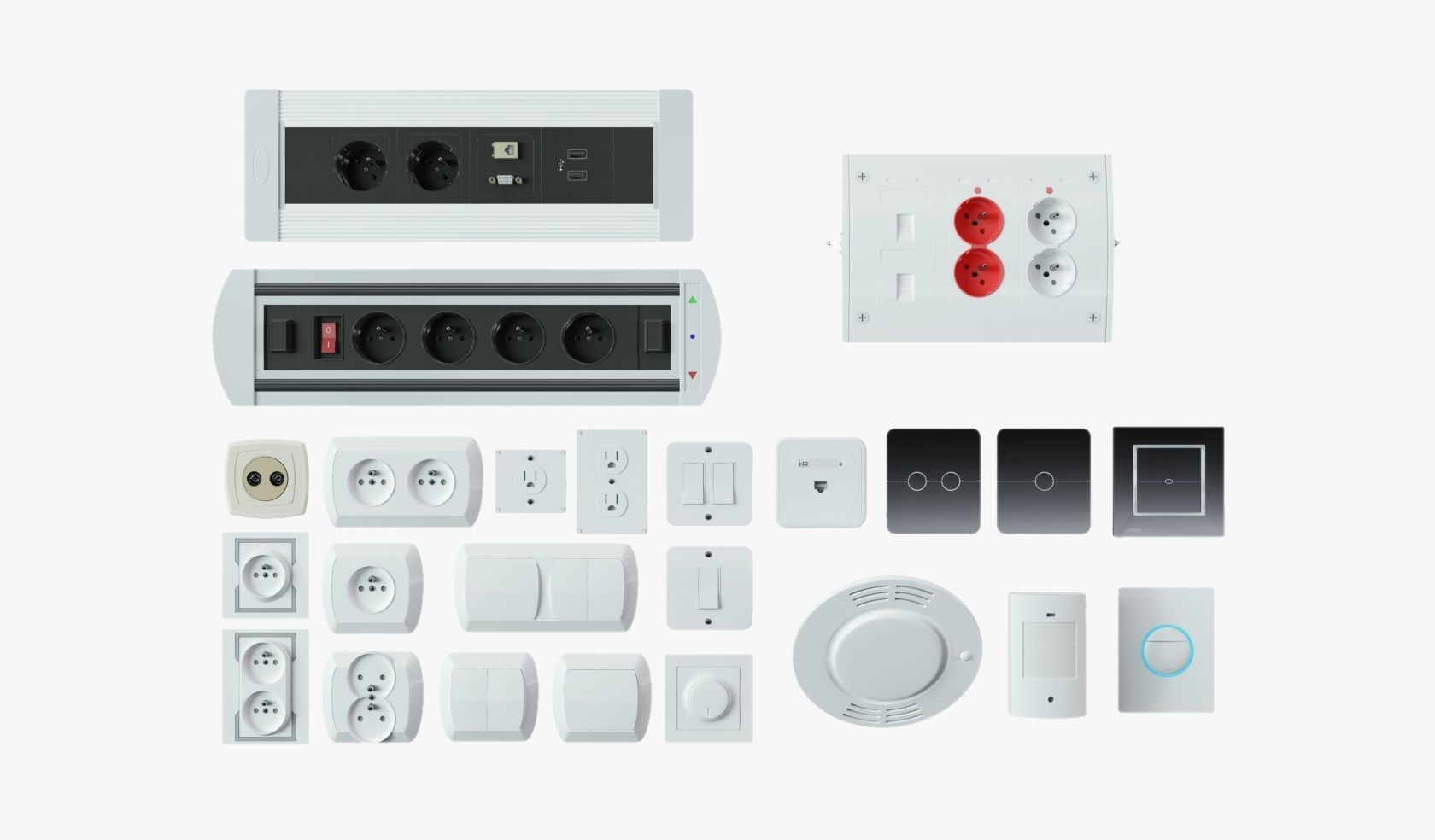 Wall Plugs Pack