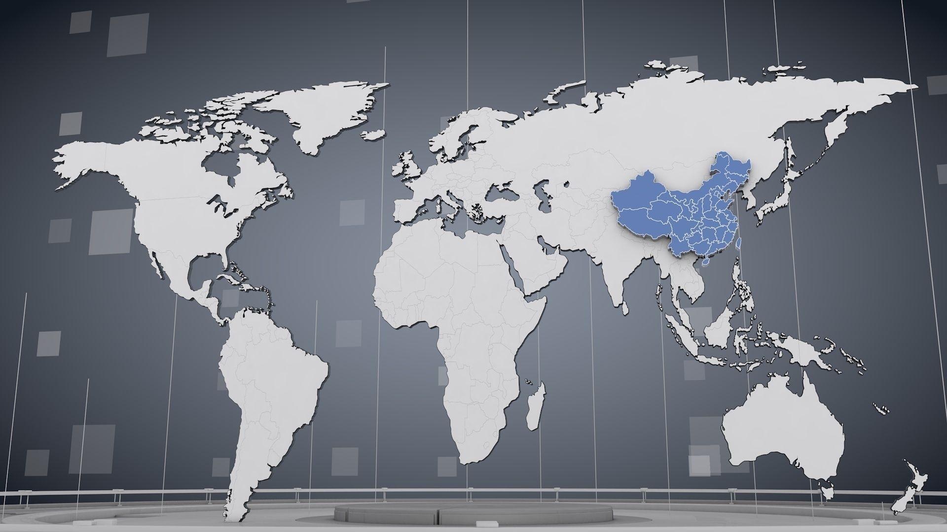 3d cinema 4d world map cgtrader cinema 4d world map 3d model fbx c4d 1 gumiabroncs Choice Image