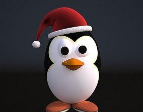 Cartoon Pingvinue 3D asset