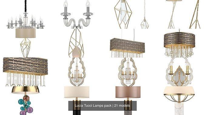 Lucia Tucci Lamps pack