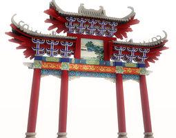 3D Torii - traditional shintoist gate