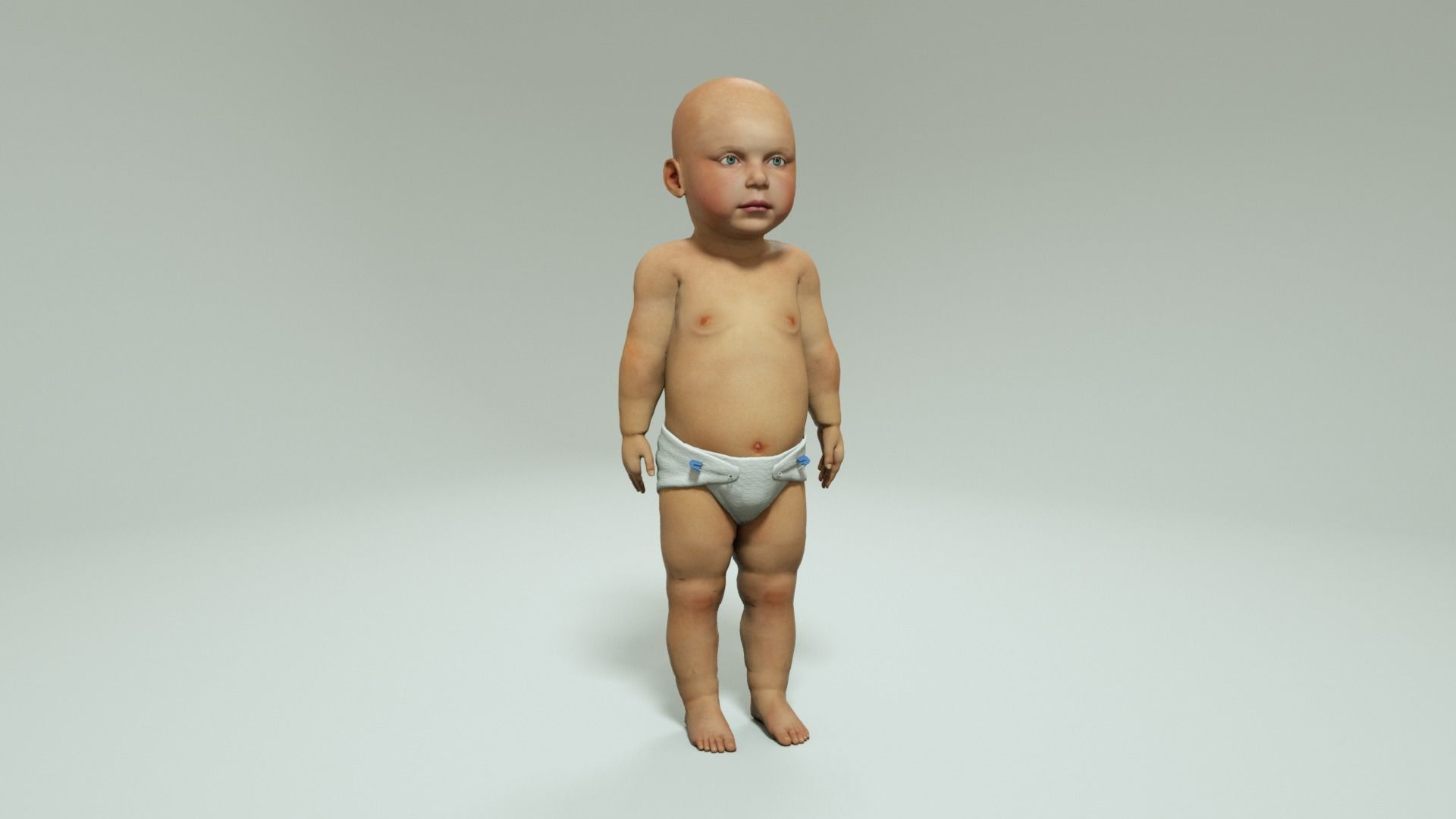 BABY - 3D MODEL RIGGED