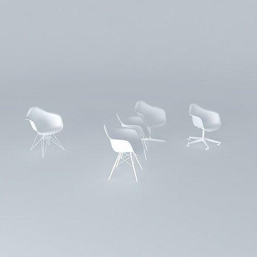 zdesign-plastic-armchair-model 3d model max obj 3ds fbx stl skp 1