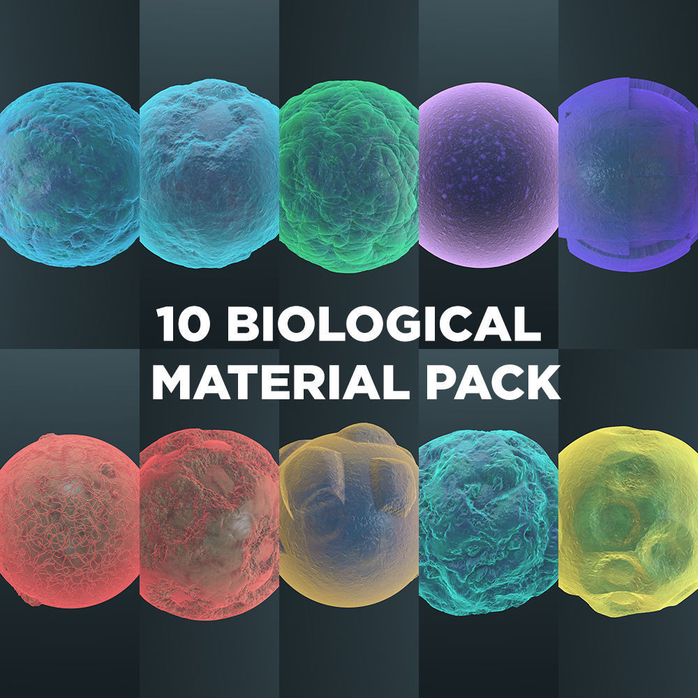 Biological Material Pack 1