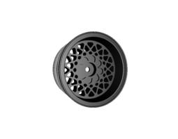 3d print model rc car drift wheel ks felge width 29mm offset minus 4mm