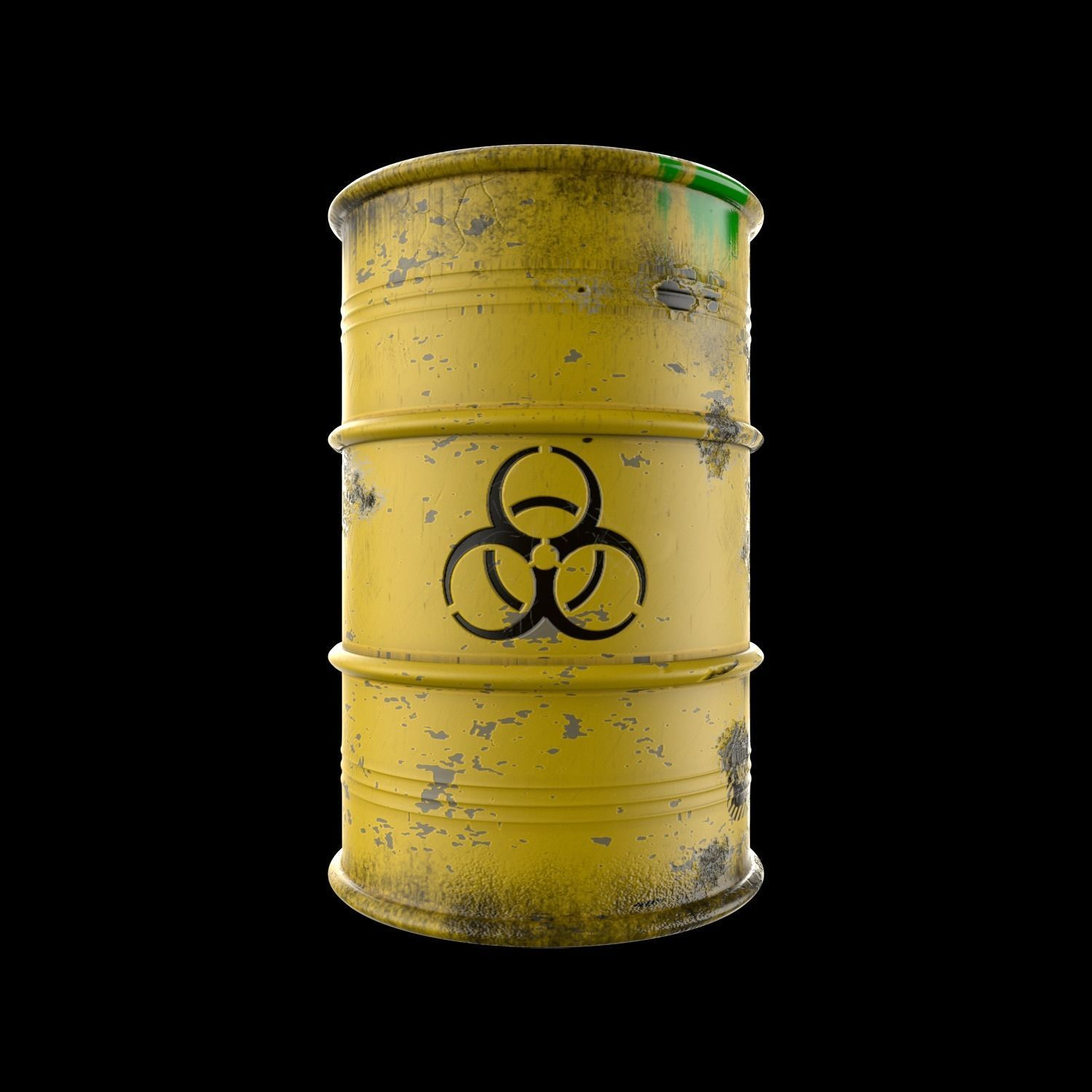 Atomic Waste Barrel