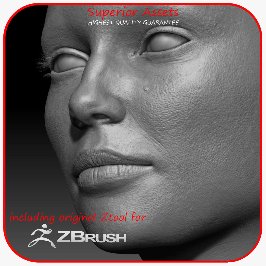 Woman - Perfect Female Body - Very High Detail Sculpt